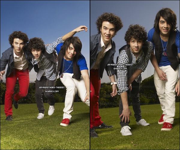 Photos 2008 Je vous présente des photoshoots des Jonas Brothers, photographiée  par « Mike Lavine for People »