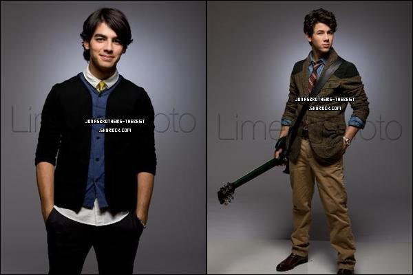 Photos 2008 Je vous présente des photoshoots des Jonas Brothers, photographiée  par « Robert Sebree for USA Today »