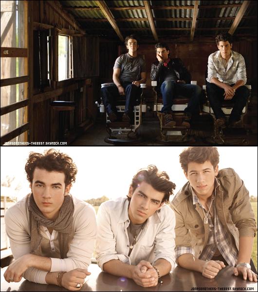 Photos 2009 Je vous présente des photoshoots des Jonas Brothers, photographiée  par « Matt Albiani for Hollywood Records »