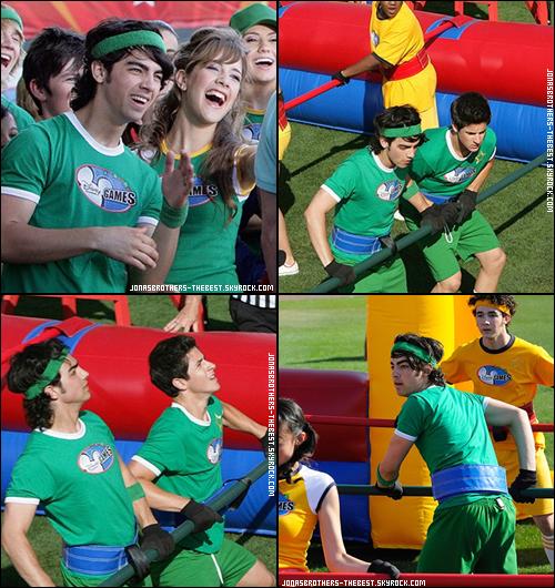 01/05/2008 Je vous présente des photos de Joe Jonas, photographiée par l'équipe de  « Disney Channel Games »