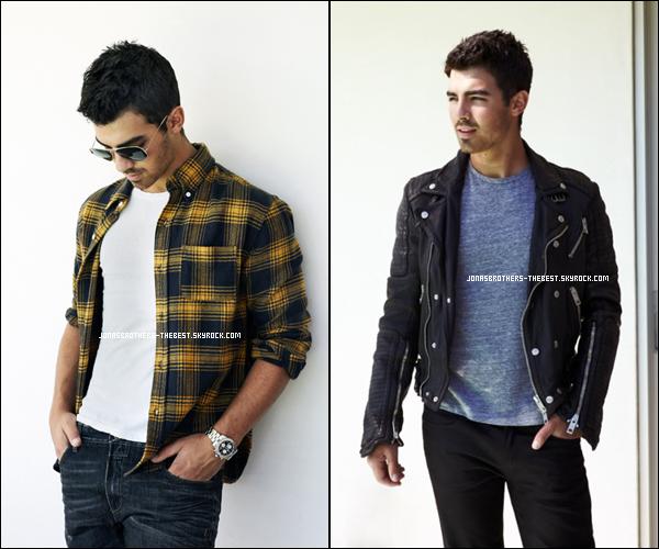 Photos 2010 Je vous présente trois photos de Joe Jonas, photographiée par InStyle