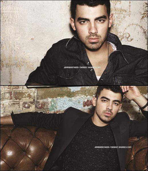 """Photos 2011 Je vous présente quatres photoshoots de Joe Jonas, qui ce trouve dans son Album """"See No More"""", photographiée par un photographe donc je n'ai pas réussis à trouver le nom :/"""