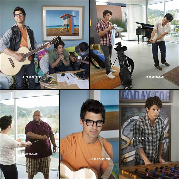 Photos 2010 Je vous présente des photos de Joe, Kevin et  Nick Jonas, photographiée par la production de JONAS L.A