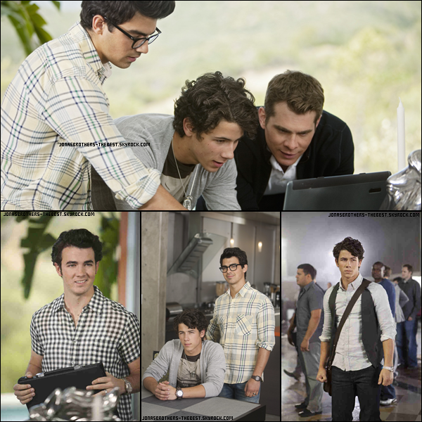 Photos 2010 Je vous présente des photos des Jonas Brothers, photographiée par la production de JONAS L.A