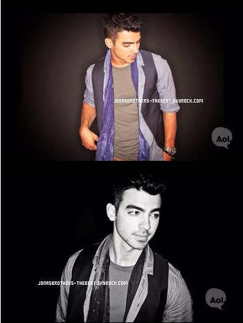 """Photos 2011 Je vous présente des photoshoots de Joe Jonas, pour le magazine """"Aol"""", photographiée par Unknown"""