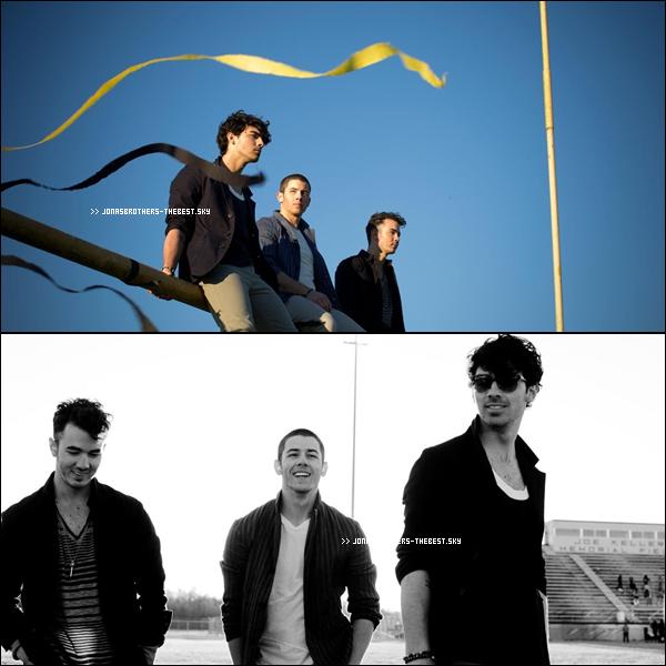 """Photos 2013 Je vous présente des photoshoots des Jonas Brothers , photographiée par Walden Brothers pour l'album """" First Time """""""