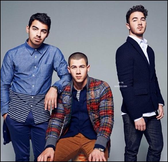 Photos 2013 Je vous présente deux photos des Jonas Brothers, photographiée pour People Magazine
