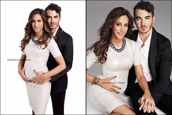 """Photos 2013 Je vous présente deux photos du couple Kevin Jonas et Danielle Delesea , photographiée pour """"Fit Pregnancy Magazine"""""""