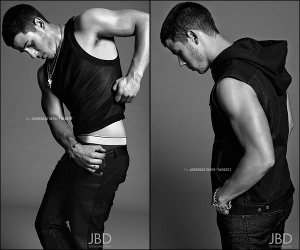 """Photos 2014 Je vous présente des photos de Nick Jonas, photographiée par Yu Tsai  pour """"Flaunt Magazine"""""""
