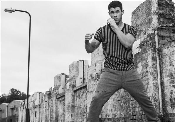 """Photos 2014 Je vous présente des photos de Nick Jonas, photographiée par Joseph Sinclair  pour """"Attitude Magazine"""""""