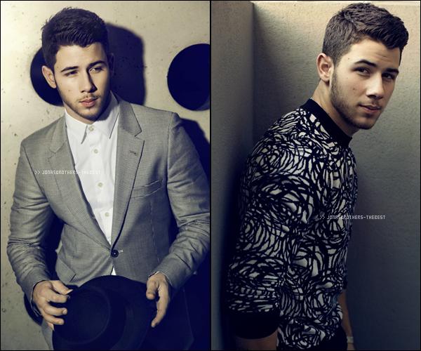 """Photos 2014 Je vous présente des photos de Nick Jonas, photographiée par Randall Slavin  pour """"New York Post"""""""