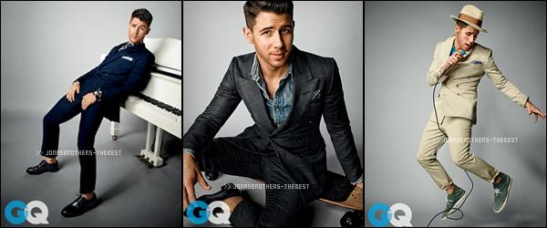 """Photos 2015 Je vous présente des photos de Nick Jonas, photographiée par Peggy Sirota pour """"GQ Magazine"""""""