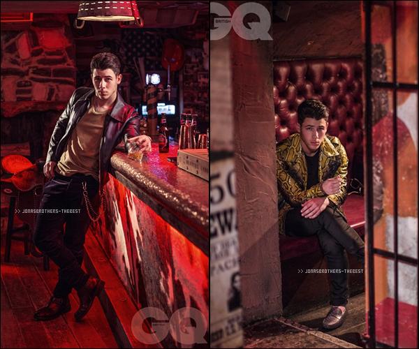 """Photos 2015 Je vous présente des photos de Nick Jonas, photographiée par Steve Neaves pour """"British GQ Magazine"""""""
