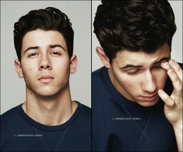 "Photos 2015 Je vous présente des photos de Nick Jonas, photographiée par Jumbo Tsui pour ""Him Magazine Collection"""