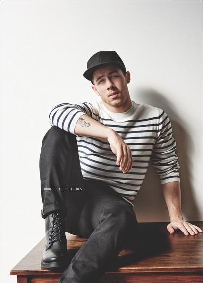 """Photos 2016 Je vous présente des photos de Nick Jonas, photographiée par Yu Tsai pour """"Topman"""""""