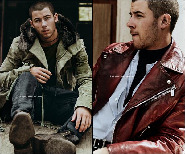 """Photos 2016 Je vous présente des photos de Nick Jonas, photographiée par Billy Ballard pour """"InStyle Magazine"""""""
