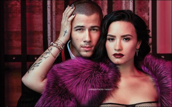 """Photos 2016 Je vous présente des photos de Nick Jonas et Demi Lovato, photographiée par Austin Hargrave pour """"Billboard Magazine"""""""