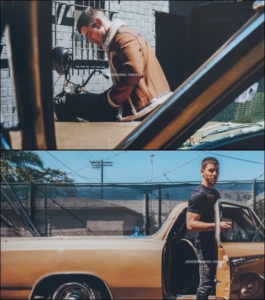 """Photos 2016 Je vous présente des photos de Nick Jonas, photographiée par Christian Oita pour """"Wonderland Magazine"""""""