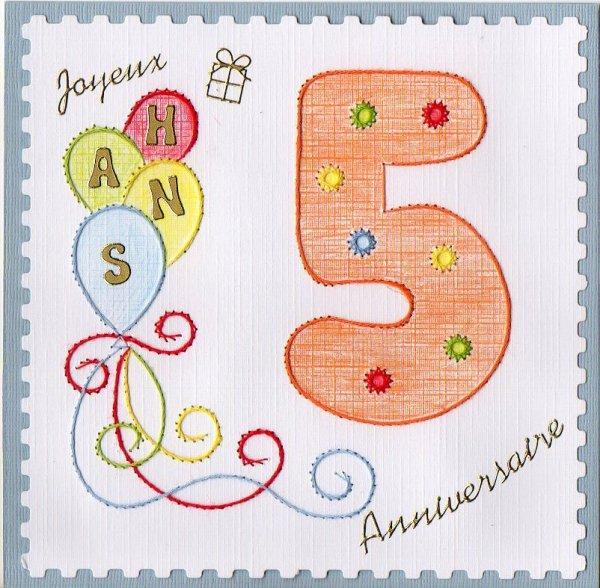 612 # carte d'anniversaire
