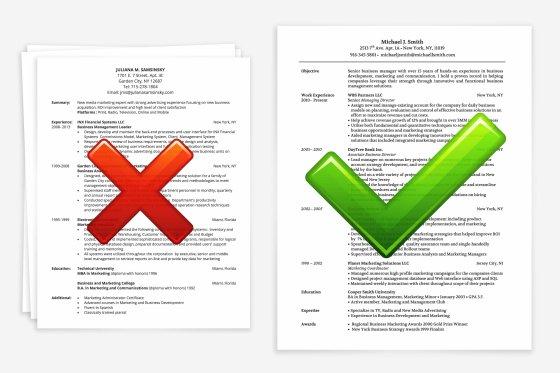 CV : 10 erreurs qui peuvent ruiner une candidature