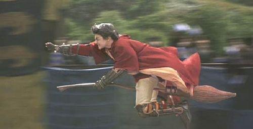 Premier match de Quidditch