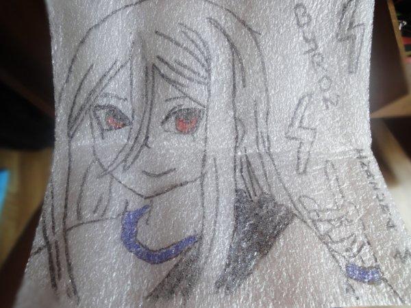 Un dessin du mangas inazuma 11