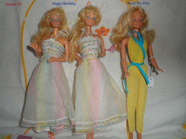 Barbie, de Super Star 77 à SuperStar 89