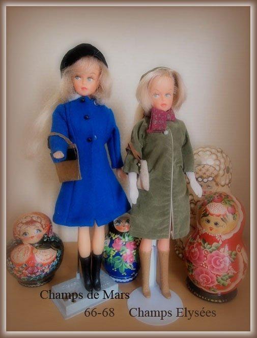La mode chez Tressy  en 1966-68