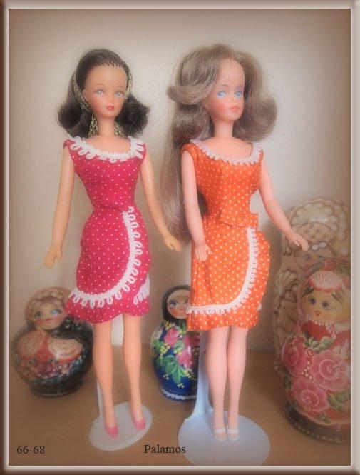 Suite mode Tressy en 1966-68