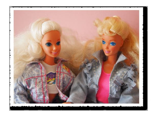 Barbie aime le jean's