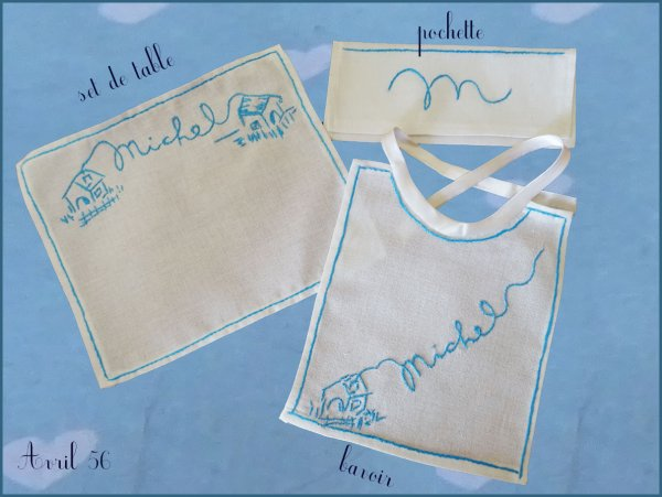 Broderie - Avril 56