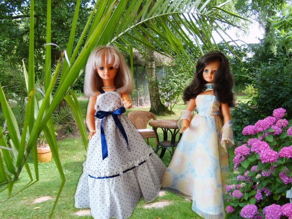 Belles en robe longue