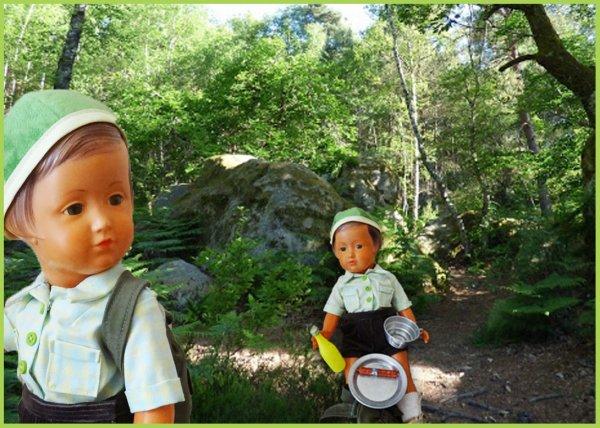 Balade au Rocher des Demoiselles à Fontainebleau