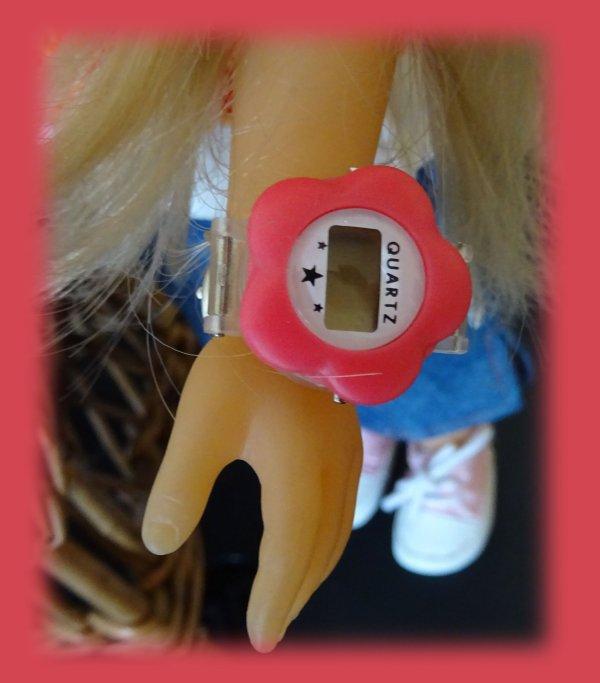 Camille et sa montre