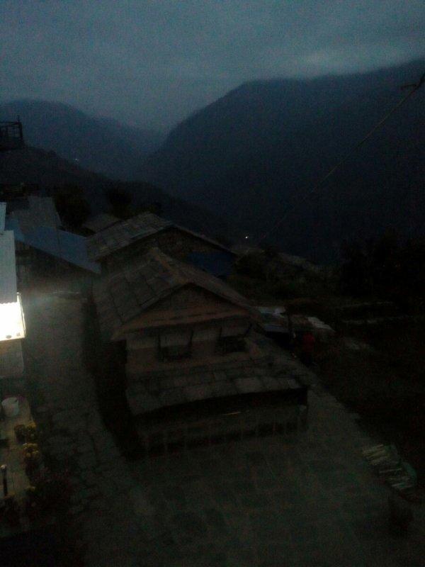 Noël au Népal pour ma fille