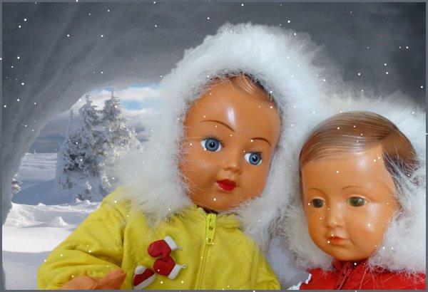 Yes,  de la neige,