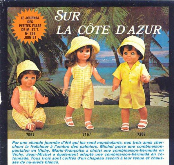 Sur la cote d'Azur