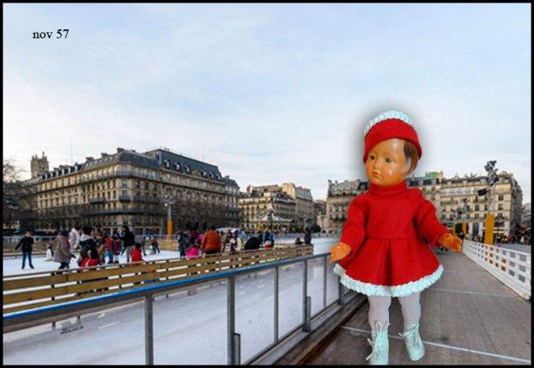 Françoise à l'Hotel de Ville de Paris
