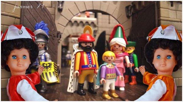 Marie-Françoise au pays Playmobil