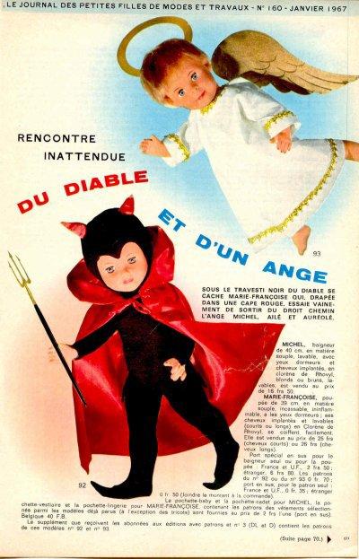 Dernier déguisement pour Marie-Françoise
