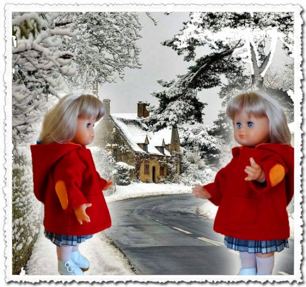 Surprise ce matin : la neige !