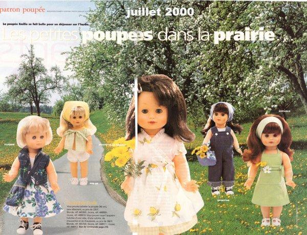VESTIAIRE JUILLET 2000