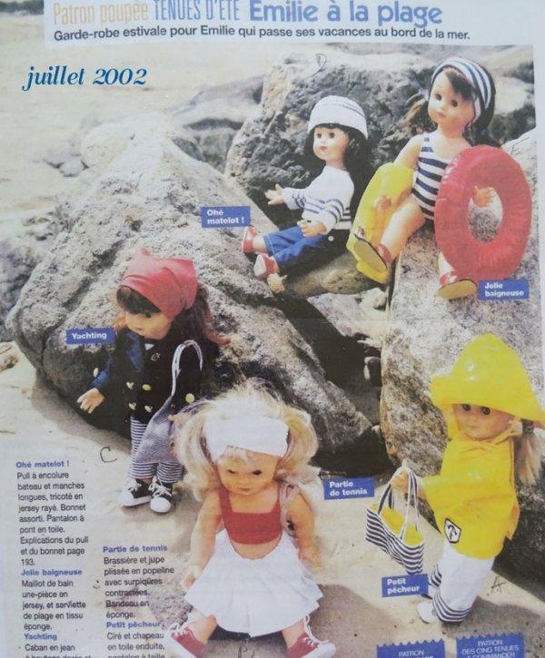 Vestiaire de juillet 2002 (1)