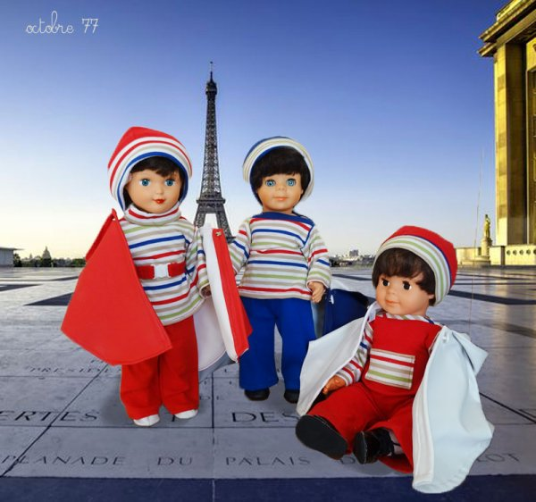 Promenade au Trocadéro