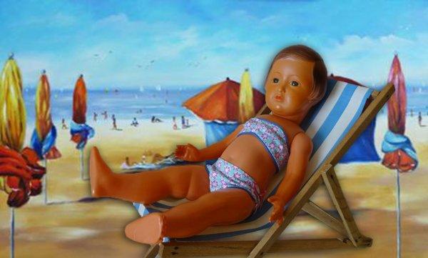 La plage pour Françoise aussi