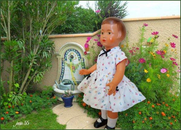Françoise au jardin