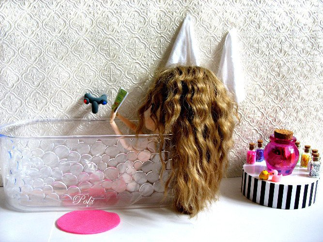 L'heure du bain !