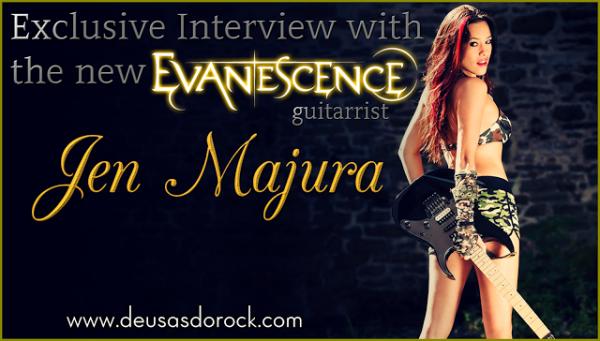 Première Interview de Jen Majura en tant que membre d'Evanescence