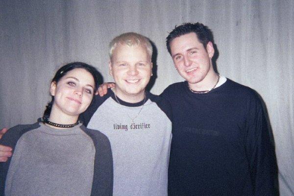 David Hodges avant Evanescence