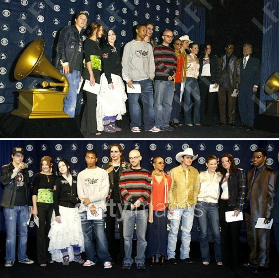 04 Décembre 2003 : 45th Annual Grammy Awards (Beverly Hills)